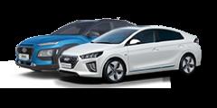 Hyundai Ioniq e Kauai Híbridos