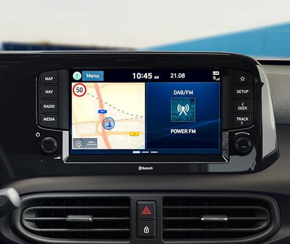 Hyundai i10 N Line - Ecrã tátil