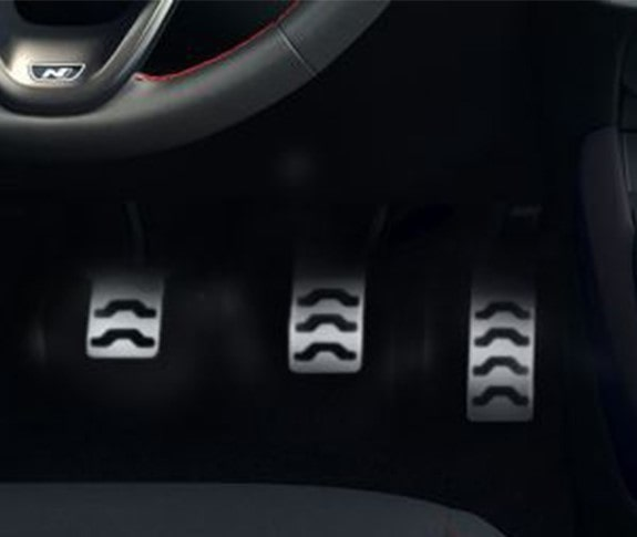 Hyundai i10 N Line - Pedais alumínio