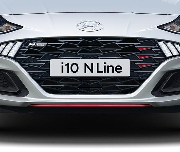 Hyundai i10 N Line - Grelha frontal
