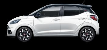 Hyundai i10 - cores exteriores