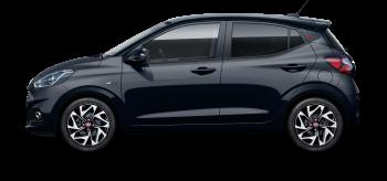 Hyundai i10 - Bagageira