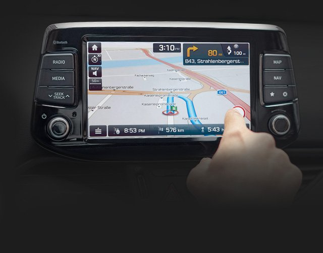 Hyundai i30sw: Ecrã Touch-screen de 8