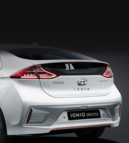 Hyundai ioniq: Integridade do design