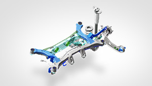 Hyundai Tucson: Multi-link rear suspension