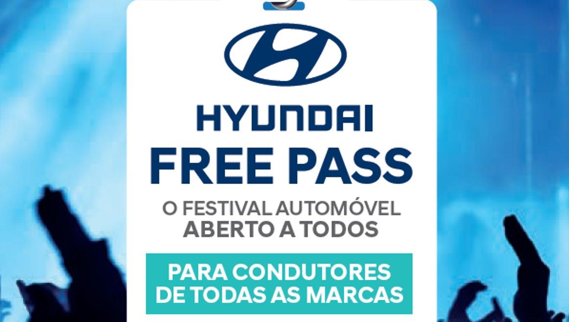 A Hyundai Free Pass é o primeiro festival automóvel para condutores de todas as marcas