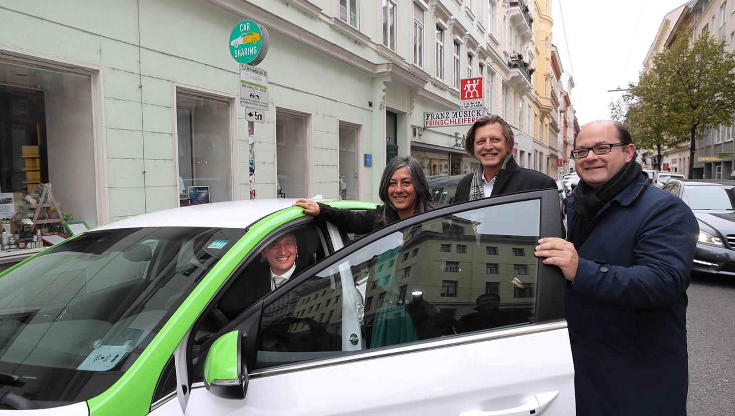 Hyundai estabelece parceria com greenmove para novo serviço de partilha de veículos em Viena