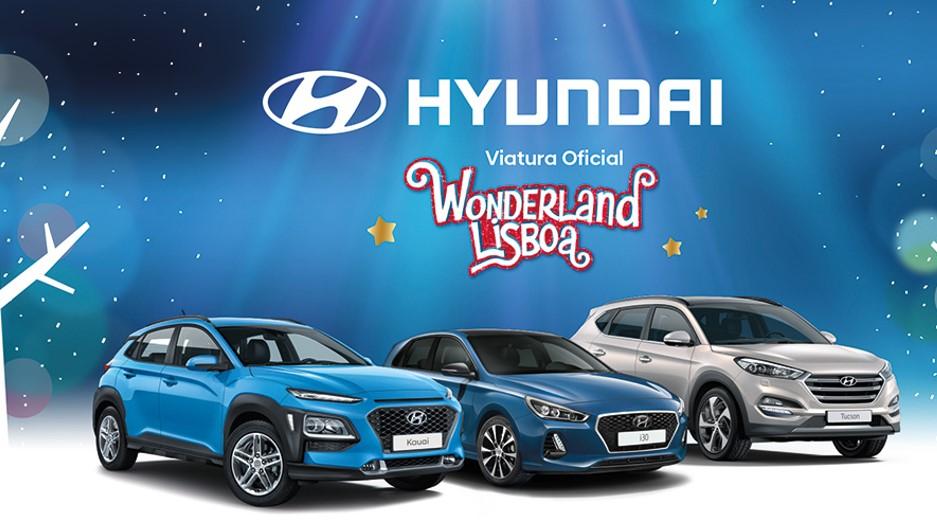 Hyundai é viatura oficial do Wonderland Lisboa