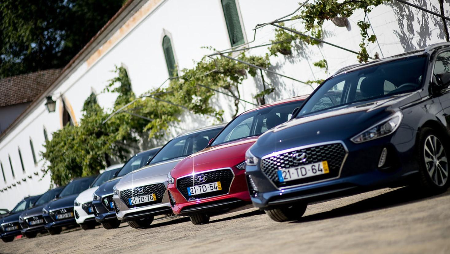Hyundai foi a marca do Top 20 que mais cresceu em Portugal no ano 2017
