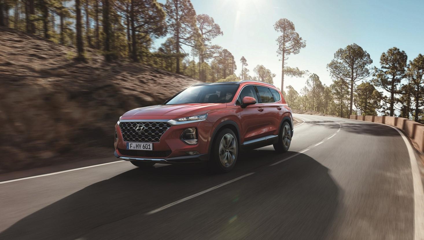 A Hyundai celebra a estreia mundial da  Nova Geração Hyundai Santa Fe
