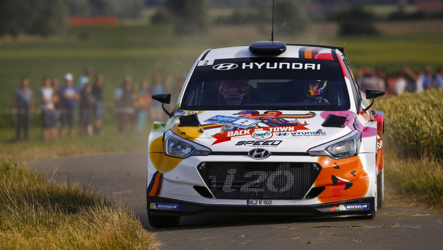 Hyundai Motorsport revela um i20 R5 mais poderoso e responsivo para a temporada de 2018