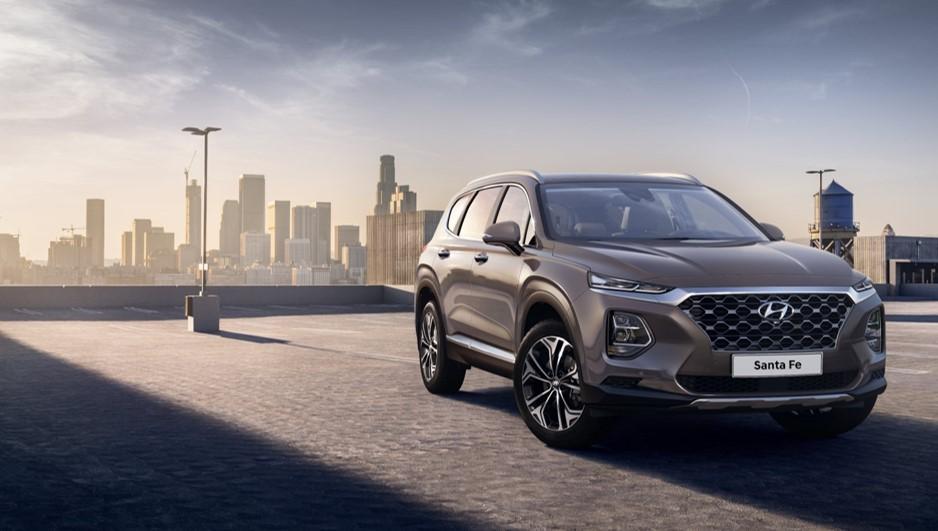 Hyundai revela as primeiras imagens do Santa Fe