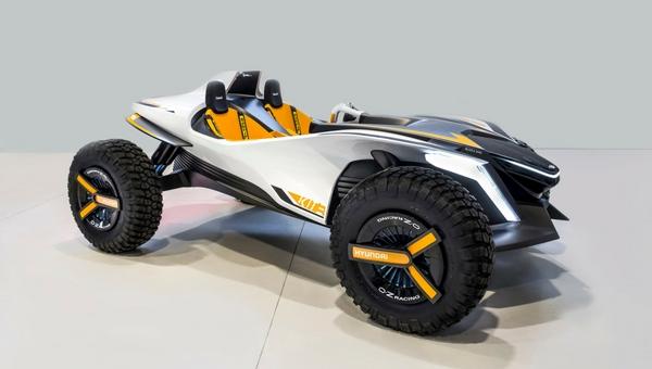Hyundai Kite: o conceito de buggy elétrico 2 em 1