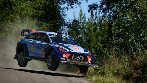 Hyundai Motorsport no Rali da Finlândia