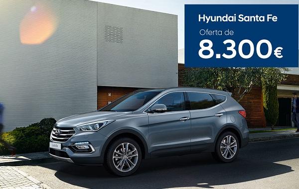 Hyundai Santa Fe – Oferta de 8.300€