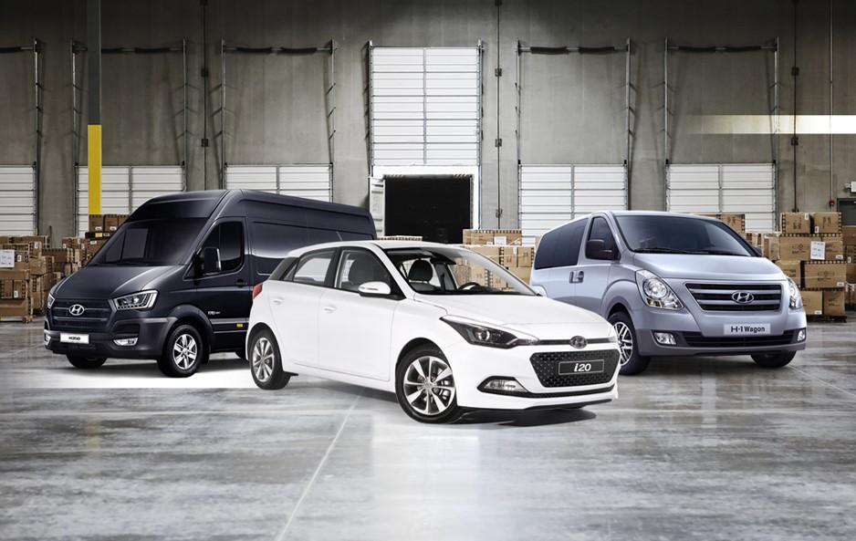 Hyundai Comerciais desde 199€/mês