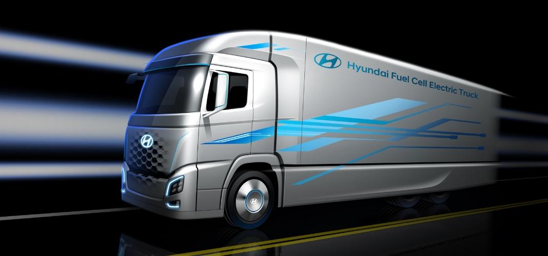 Camião fuel cell Hyundai
