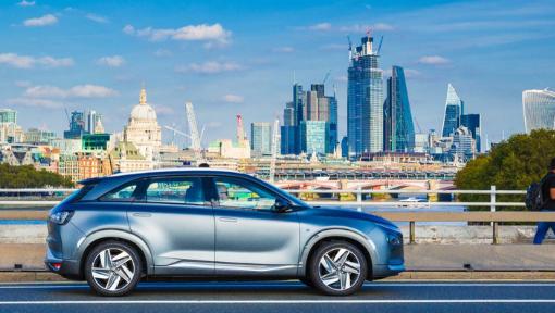 Hyundai NEXO purificou o ar no percurso mais poluído de Londres