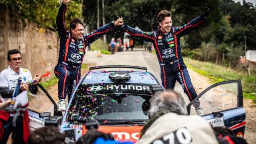 Team Hyundai Portugal entrou para vencer no Campeonato de Portugal de ralis