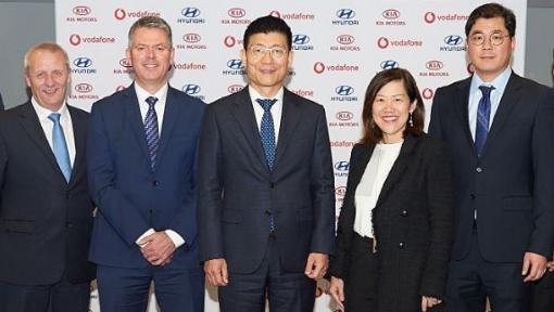 Hyundai e Vodafone estabelecem uma parceria estratégica