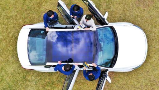 Hyundai revela tecnologia de carregamento solar para os veículos ecológicos do futuro