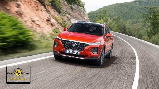 Novo Hyundai Santa Fe obtém cinco estrelas do Euro NCAP