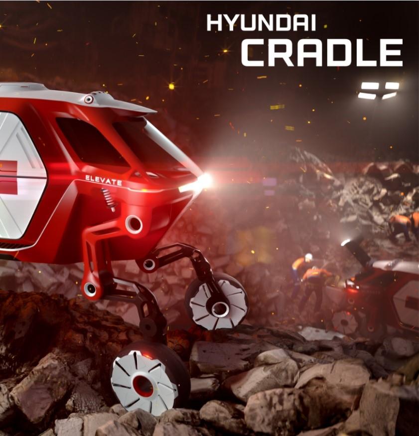 "Hyundai apresenta Novo Walking Car Concept ""Elevate"" no CES 2019"