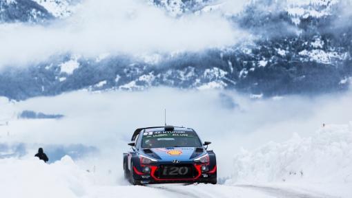 Hyundai Motorsport no Rali de Monte Carlo
