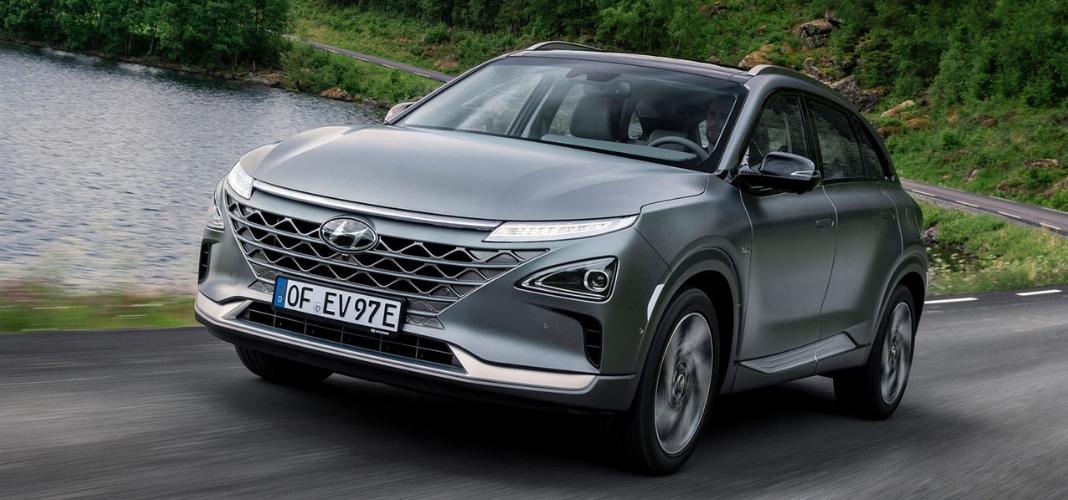 Hyundai Nexo cinzento