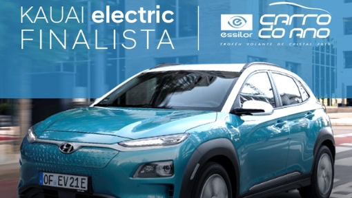 Hyundai KAUAI Electric é finalista do Carro do Ano 2019
