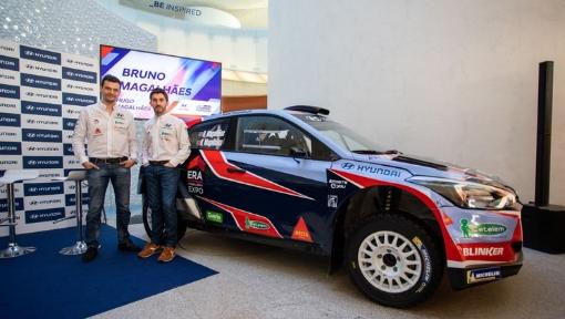 Team Hyundai Portugal no Rallye Serras de Fafe