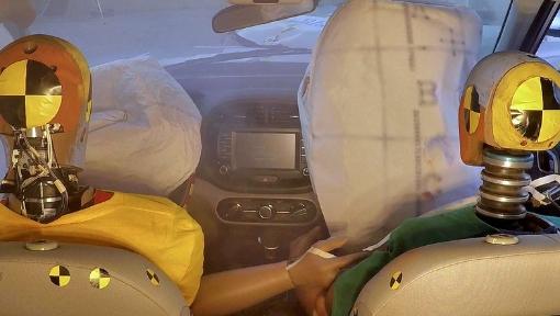 Hyundai apresenta o primeiro sistema de airbag multicolisão do mundo