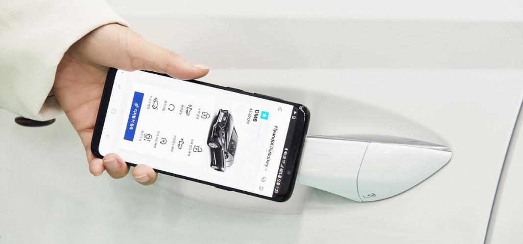 chave digital para smartphone