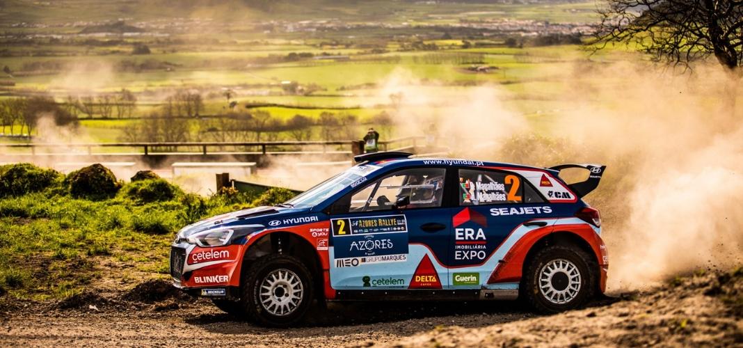 Team Hyundai Portugal no segundo lugar do pódio nos Açores