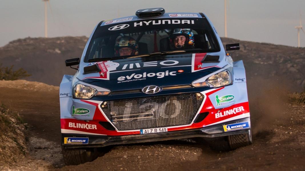 Team Hyundai Portugal está no Rali de Santo Tirso