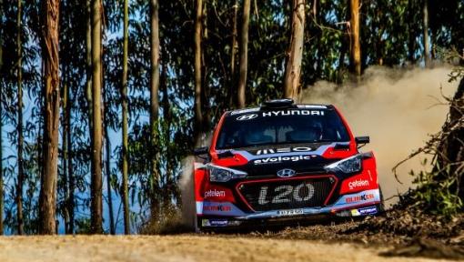Team Hyundai Portugal surpreende com nova decoração no Rali de Mortágua