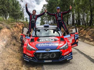 Team Hyundai Portugal conquista segunda vitória consecutiva  no Campeonato de Portugal de Ralis