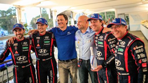 Team Hyundai Portugal homenageado pela Hyundai Motorsport