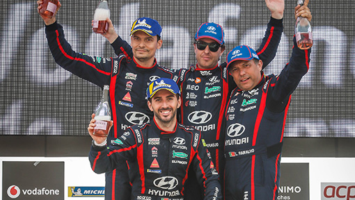 Team Hyundai Portugal voltou a vencer no Rali de Portugal