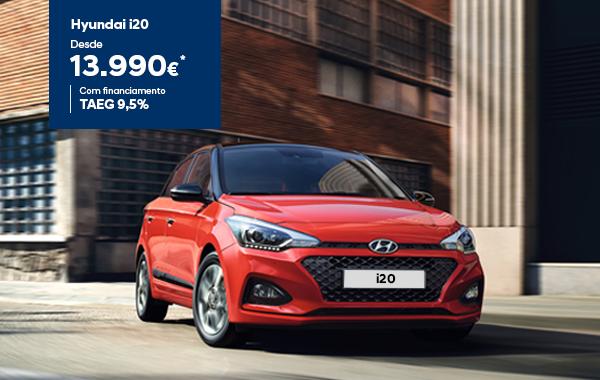Hyundai i20 desde 13.990€