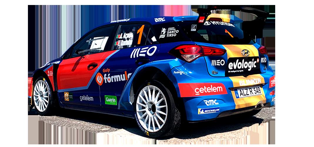 Team Hyundai portugal no Rali da Madeira