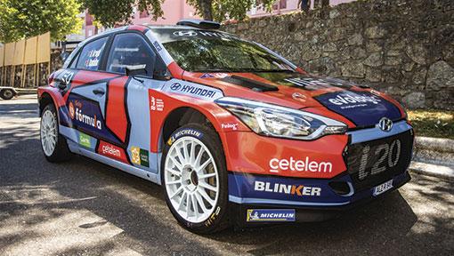 Team Hyundai Portugal aponta aos primeiros lugares  no Rali de Castelo Branco