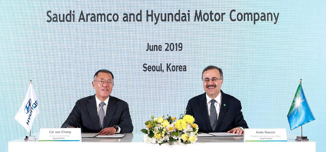 Hyundai-e-Saudi-Aramco-colaboram-em-Hidrogénio