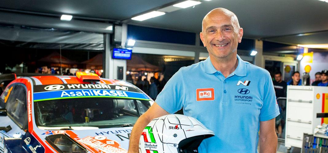 WTCR e WRC: Tarquini vive experiência de condução do Hyundai i20 Coupé WRC
