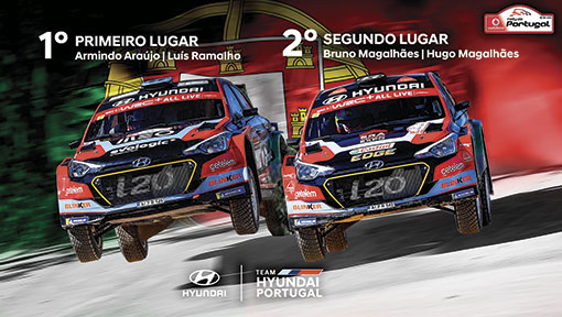 Team Hyundai Portugal com domínio total no Rali de Portugal