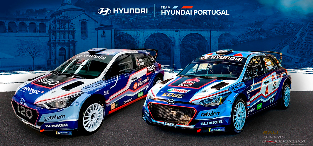 Team Hyundai Portugal Rali Terras D'Aboboreira