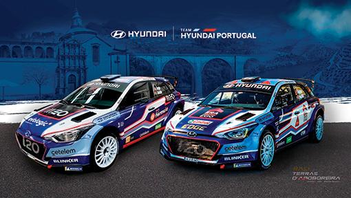 Team Hyundai Portugal procura a quarta vitória consecutiva no Rali Terras D'Aboboreira