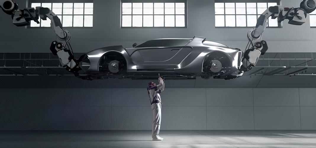 Hyundai desenvolve o Vest EXoskeleton