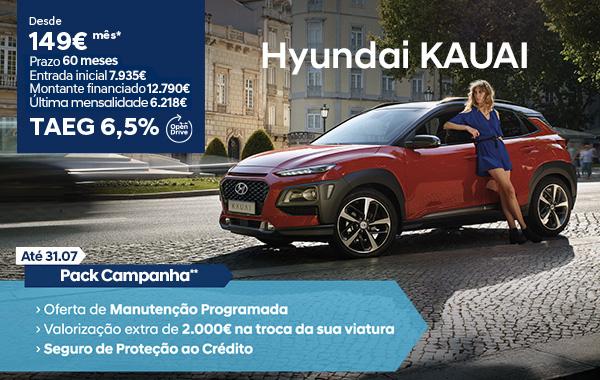 Hyundai Kauai desde €149/mês