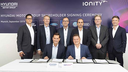 Hyundai investe na IONITY para democratizar a rede de carregamento elétrico de alta potência